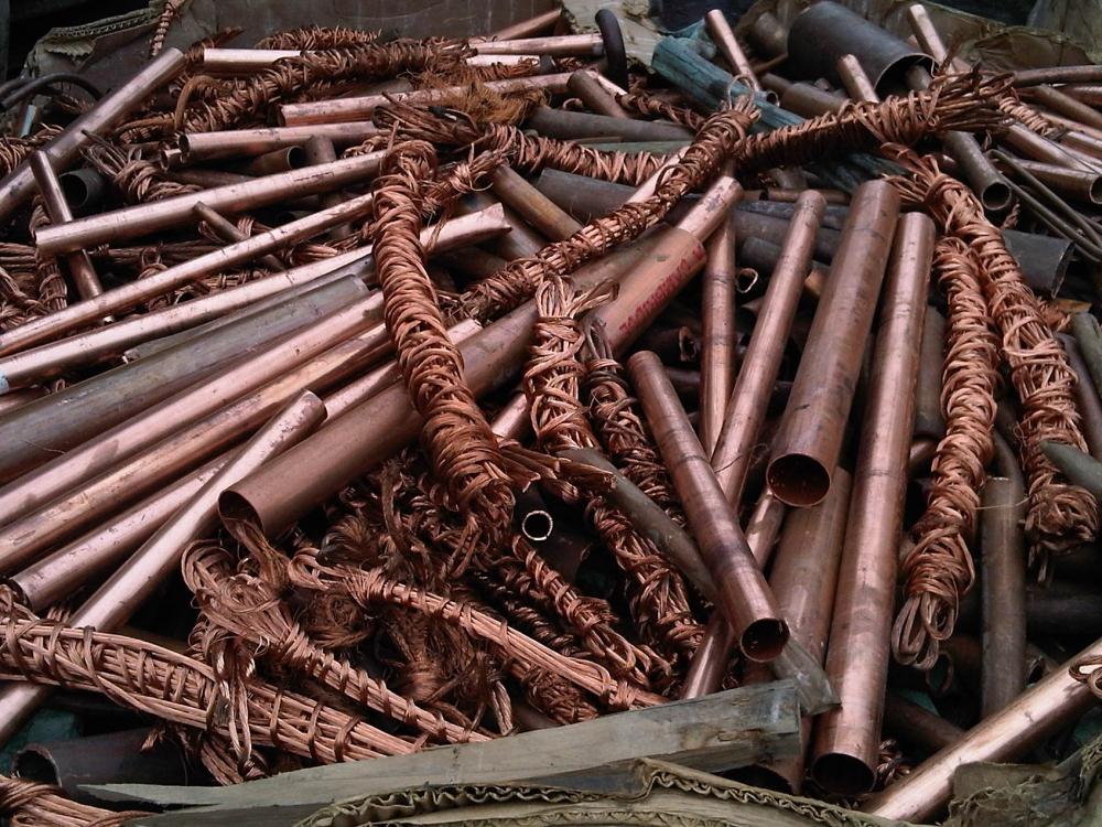 Запрещенный к сдаче цветной металлолом