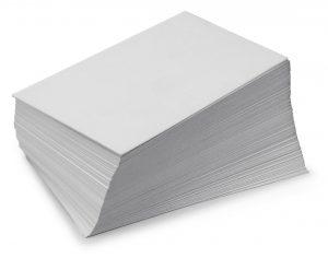 Бумага белая (офисная) без печати МС-1А сдать на макулатуру