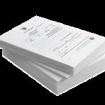 сдать на макулатуру Офисная белая бумага с печатью черно-белого цвета МС-1А