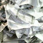 сдать на макулатуру Отходы от производства белой (без печати) газетной бумаги